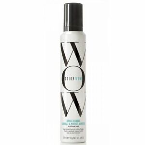 COLOR WOW Brass Banned Correct & Perfect MOUSSE Dark Hair 200ml Brunette Brown