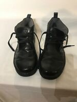 Dr Marten Aw501 Mens Black Leather Lace Up Boots Uk 11 Ref Ba4
