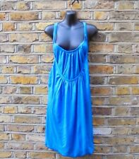 FRENCH CONNECTION FCUK Women's True Blue Cami Strappy Dress SIZE XL NEW