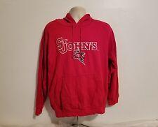 St Johns University Mens Large Red Sweatshirt Hoodie