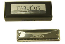 Harmonica diatonique Suzuki Fabulous F-20J juste (Richter). Neuf Do - C