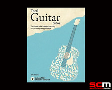 Learn To Play Guitar Hardcover Book and CD by Terry Burrows Total Guitar Tutor