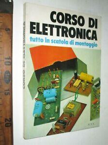 CORSO DI ELETTRONICA TUTTO IN SCATOLA DI MONTAGGIO GIANNI BRAZIOLI 1974 ETLsc222