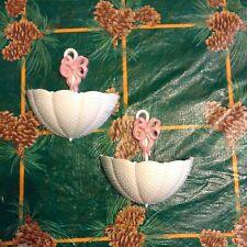 Vintage Home Interiors Burwood Products Umbrellas Wall Pockets Planters Set Of 2