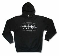 Alice In Chains A.I.C. Black Pull Over Sweatshirt New Official Adult