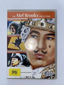 DVD - THE MEL BROOKS COLLECTION  - Region 4 PAL - Free Post Aus Wide