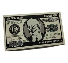 """EUGENE MORRISON STONER MONEY Decal 4.5"""" x 2.5 Created the AR-15 and M-16"""