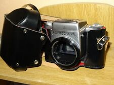 PENTACON 6 TL 6x6 MEDIUM FORMAT SUPER FAWESOME AND MINT CAMERA W/HOLDER.BEAUTY !