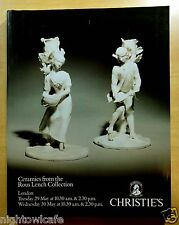 Ceramics from the Rous Lench Collection LONDON 1990 CHRISTIE'S AUCTION CATALOGUE