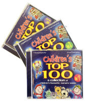 Children's Top 100  3CDs childrens, kids, nursery rhymes, songs, music  *NEW*
