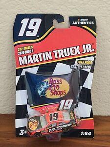 2021 Wave 5 Martin Truex Jr Bass Pro Shop 1/64 NASCAR Authentics $1 COMBINE SHIP