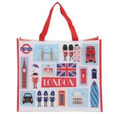 Dettagli su Borsa shopper shopping con stampa bandiera inglese britannica 0JL6