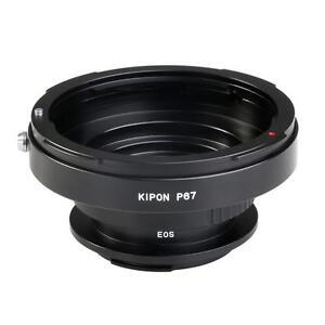Adaptateur Kipon pour Objectifs en monture Pentax 6x7 sur boitier Canon EOS