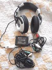 Turtle Beach Ear Force X11 Black/White Headband Headsets for Multi-Platform