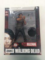 """The Walking Dead Glenn Deluxe Action Figure 10"""" Statue TV AMC"""