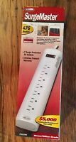Belkin 7-Outlet Power Strip 6 ft. long heavy-duty 14awg power cord. New In Box.