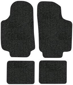 1981-1984 Mercury Lynx Floor Mats - 4pc - Cutpile