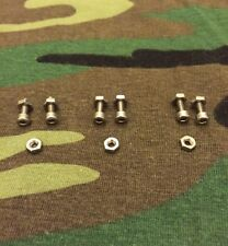 STAINLESS STEEL CARP EARS SNAG EARS BOLTS TO FIT 3x OLD SCHOOL BITE ALARMS