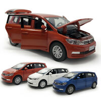 1:32 All New Touran L MPV Die Cast Modellauto Spielzeug Model Sammlung Pull Back