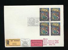 Christkindl-Reco-Expressbrief 30.11.1973 Ersttag  (C41)