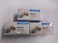 3x de 10 Paquet Capsules Leuchtturm 27mm pour Euro Pièces Subtropische Zone