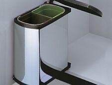 Hailo Duo Einbau Abfallsammler Mülltrennung 2-fach
