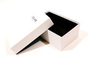 """SCATOLA CONFEZIONE LUSSO - GIFT BOX """"CELINE"""" PARIS 2021 ORIGINALE (31x21x13)"""