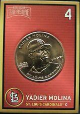 YADIER MOLINA 2018 Baseball Treasure MLB Coins Copper