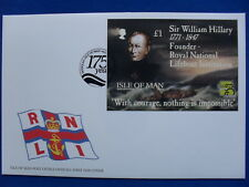 Isle of Man FDC 04.03.1999 MS W. HILLARY IMPERFORATED UNIKAT!