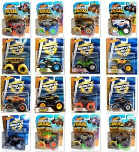 Hot Wheels Monster Jam & Trucks Mattel Toy Cars 1:64 die-cast Model Truck