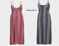Ladies Womans maxi dress red black summer holidays 14 16 18 20 BRAND NEW Zig Zag