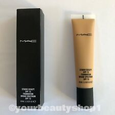 MAC Studio Sculpt Foundation SPF 15 NC42 100% Authentic Brand New In Box