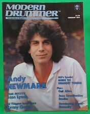 Modern Drummer February 1984 Andy Newmark Kenny Clarke Iss52 NO LABEL BRAND NEW!
