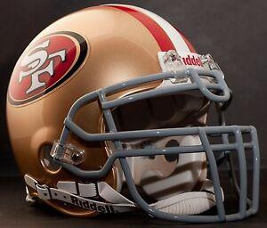PATRICK WILLIS SAN FRANCISCO 49ers Schutt ROPO-UB-DW Football Helmet FACEMASK