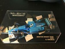 1/43 Minichamps F1 Formula 1 Benetton Renault B201  G. Fisichella 2001