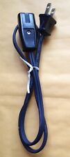 SMALL ELECTRIC APPLIANCE CORD, 2 PRONG, 5A 250V 10A 125V, SP-011, E65753, 2 FEET