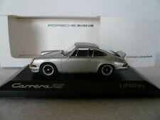 Porsche 911 Carrera RS 2.7, Minichamps MAP02004212, silber, 1973, 1:43, OVP