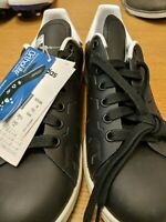Mens Adidas Stan Smith Black/White Size Uk 6 Ref Crate 1