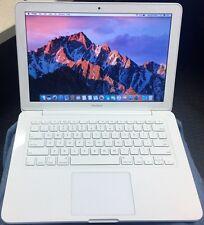 """Apple MacBook A1342 13.3"""" Laptop MC516LL/A 2395 2.4 250GB HD 4GB RAM Mid 2010"""