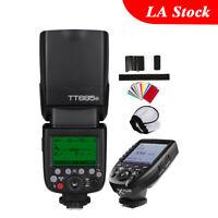Godox TT685N 2.4G TTL HSS Camera Flash Speedlite Xpro-N TCM Transmitter Fr Nikon