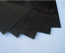500X500X0.5mm 100% Carbon Fiber plate panel sheet 3K plain Weave Glossy US Stock