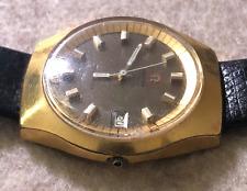 Vintage Men's Omega Electronic F-300 HZ Men's Watch Parts/Repair Chronometer