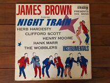 James Brown Presents His Band – Night Train 1961 King 771 Jacket VG- Vinyl VG