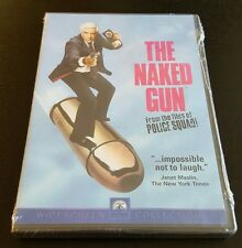 The Naked Gun (DVD, Widescreen Collection) Leslie Nielsen original 1 comedy NEW