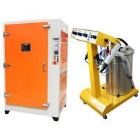 Máquina de Pintura en Polvo Electrostática 45 Litros y Horno de Curado 7,2KW