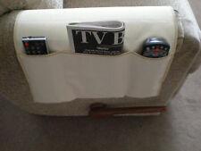 Chair Cozee TV Remote Control Holder Armrest Organizer Caddy-Beige