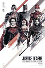 Oliver Barrett Justice League Art Batman Superman DC comics Mondo Poster Print