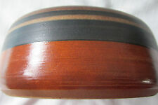 LAPID ISRAEL PLANTER/BOWL FROM MID-CENTURY, HAND PAINTED