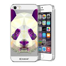 Coque Housse Etui Pour iPhone 5 / 5S / SE Polygon Animal Rigide Fin  Panda