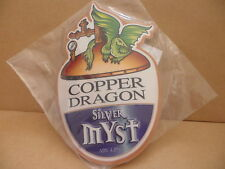 Silver Myst Copper Dragon Ale Beer Pub Bar Pump Clip NEW